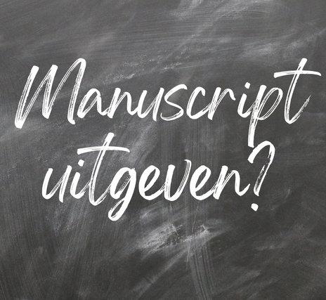 manuscript uitgeven?