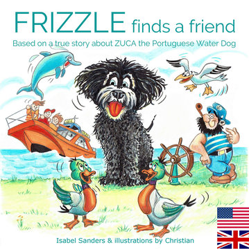 FRIZZLE finds a friend | Isabel Sanders