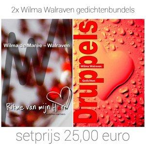 Set aanbieding Wilma Walraven gedichtenbundels