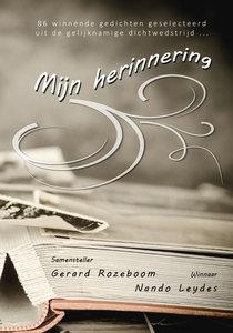 MIJN HERINNERING | samensteller Gerard Rozeboom | div. dichters